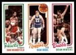1980 Topps   -  Dan Roundfield / Dan Issel / Brian Winters 29 / 73 / 152 Front Thumbnail