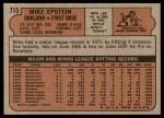 1972 Topps #715  Mike Epstein  Back Thumbnail