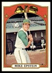 1972 Topps #715  Mike Epstein  Front Thumbnail