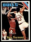 1975 Topps #85  Nate Thurmond  Front Thumbnail