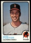 1973 Topps #543  Alan Foster  Front Thumbnail