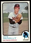 1973 Topps #600  Dave McNally  Front Thumbnail