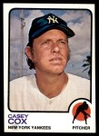 1973 Topps #419  Casey Cox  Front Thumbnail