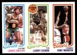 1980 Topps   -  Lonnie Shelton / Larry Kenon / Kermit Washington 231 / 205 / 203 Front Thumbnail