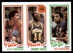 1980 Topps   -  Cliff Robinson / Johnny Davis / Otis Birdsong 161 / 114 / 125 Front Thumbnail