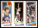 1980 Topps   -  Allan Bristow / Mark Olberding / James Bailey 236 / 210 / 255 Front Thumbnail