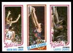 1980 Topps   -  Kareem Abdul-Jabbar / John Shumate / Larry Demic 135 / 253 / 167 Front Thumbnail