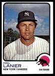 1973 Topps #479  Hal Lanier  Front Thumbnail