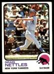 1973 Topps #498  Graig Nettles  Front Thumbnail