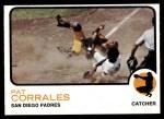 1973 Topps #542  Pat Corrales  Front Thumbnail