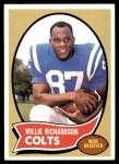 1970 Topps #246  Willie Richardson  Front Thumbnail