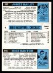 1980 Topps   -  Mike Bantom / Adrian Dantley / James Bailey 115 / 6 / 227 Back Thumbnail