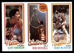 1980 Topps   -  Cliff Robinson / Mike Mitchell / Bobby Wilkerson 161 / 51 / 80 Front Thumbnail