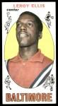 1969 Topps #42  Leroy Ellis  Front Thumbnail