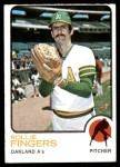 1973 Topps #84  Rollie Fingers  Front Thumbnail
