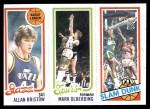 1980 Topps   -  Allan Bristow / Mark Olberding / James Bailey 236 / 210 / 255 Front Thumbnail