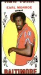 1969 Topps #80  Earl Monroe  Front Thumbnail