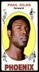 1969 Topps #61  Paul Silas  Front Thumbnail