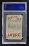1951 Bowman #289  Cliff Mapes  Back Thumbnail
