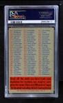 1956 Topps   Checklist Series 2/4 Back Thumbnail