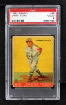 1933 Goudey #29  Jimmie Foxx  Front Thumbnail