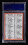 1969 Topps #412   -  Mickey Mantle Checklist 5 Back Thumbnail