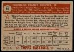 1952 Topps #44  Con Dempsey  Back Thumbnail