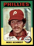 1975 Topps #70  Mike Schmidt  Front Thumbnail