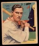 1935 Diamond Stars #50  Mel Ott   Front Thumbnail