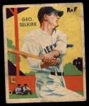 1935 Diamond Stars #88  George Selkirk   Front Thumbnail