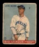 1933 Goudey #78  Jack Quinn  Front Thumbnail