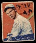 1934 Goudey #8  Tony Piet  Front Thumbnail