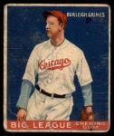 1933 Goudey #64  Burleigh Grimes  Front Thumbnail