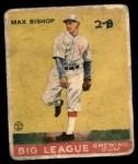 1933 Goudey #61  Max Bishop  Front Thumbnail