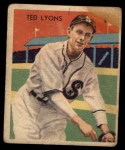 1935 Diamond Stars #43  Ted Lyons   Front Thumbnail
