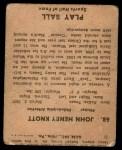 1941 Play Ball #53  Luke Hamlin  Back Thumbnail