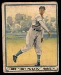 1941 Play Ball #53  Luke Hamlin  Front Thumbnail