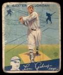 1934 Goudey #31  Baxter Jordan  Front Thumbnail