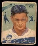 1934 Goudey #68  Bob Johnson  Front Thumbnail