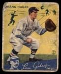 1934 Goudey #20  Frank Hogan  Front Thumbnail