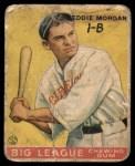 1933 Goudey #116  Eddie Morgan  Front Thumbnail
