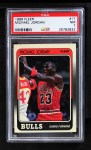 1988 Fleer #17  Michael Jordan  Front Thumbnail