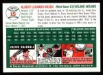 1994 Topps 1954 Archives #15  Al Rosen  Back Thumbnail