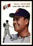 1994 Topps 1954 Archives #74  Bill Taylor  Front Thumbnail