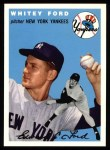 1994 Topps 1954 Archives #37  Whitey Ford  Front Thumbnail