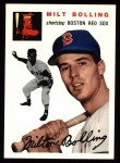 1994 Topps 1954 Archives #82  Milt Bolling  Front Thumbnail