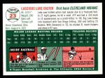 1994 Topps 1954 Archives #23  Luke Easter  Back Thumbnail