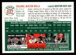 1954 Topps Archives #227  Buster Mills  Back Thumbnail