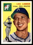 1954 Topps Archives #232  Lou Limmer  Front Thumbnail