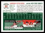 1994 Topps 1954 Archives #50  Yogi Berra  Back Thumbnail